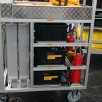 Feuerwehr Werl - GW-G Rollwagen